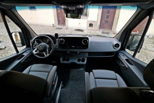 Fahrerraum 9-Sitzer Sprinter