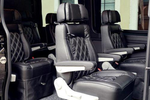 verstellbare Einzelsitze Luxus Sprinter