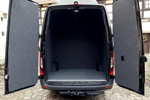 Kofferraum mit Trennwand