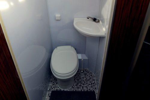 Nightliner schwarz - Toilette