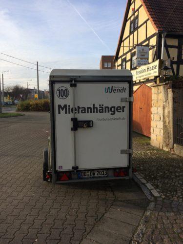 Kastenanhänger 750kg bis 2t | tourbussewendt