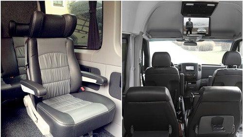 Luxus-Sprinter Tourbusse Wendt