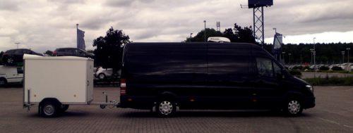 Bild MINI-Nightliner mit Hänger Tourbusse Wendt