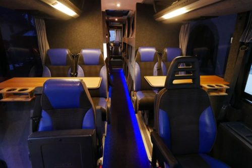 Nightliner Tourbusse Wendt Sitzgruppe