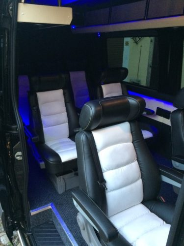 Sitze Luxus-Sprinter