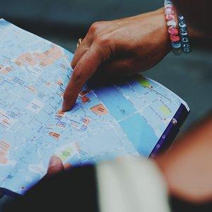 Karte - Anlieferung in Europa